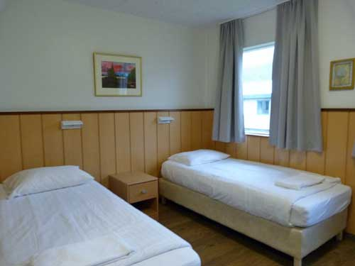 Hotelzimmer in Skaftafell in Island