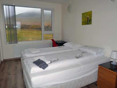 Zimmer auf der Snaefellsnes Halbinsel