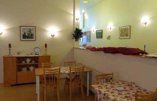 Rezeption im Gästehaus
