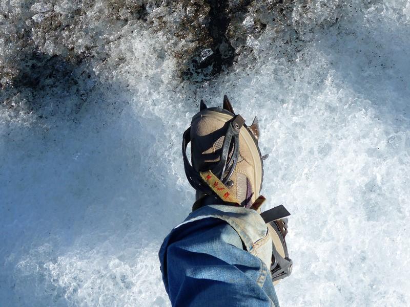Gletscherwanderung bei einer Island Reise