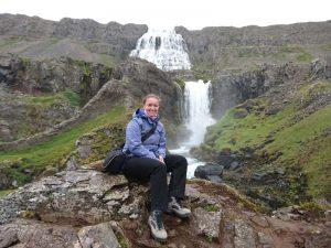 Dynjandi Wasserfall in den Westfjorden