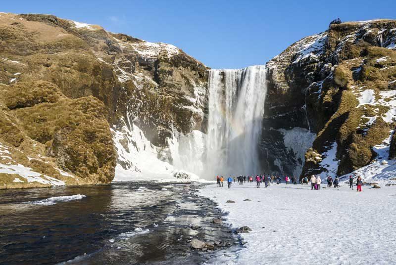 Wasserfällen und Vulkanen in Südisland