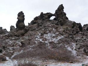 Dimmuborgir im Winter