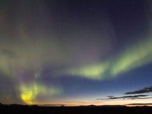 Polarlichter am Myvatn See