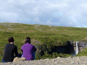 Wanderung durch Skaftafell mit Blick auf den Svartifoss