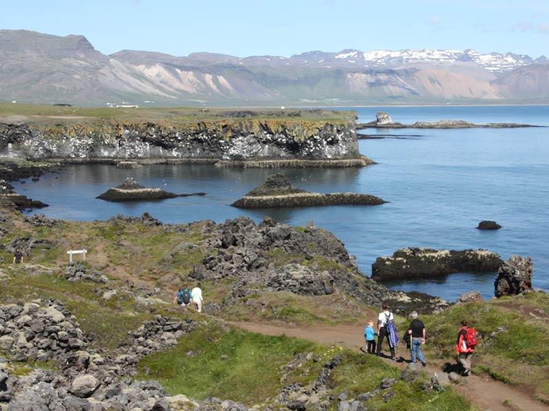 Wanderung von Arnastapi nach Hellnar