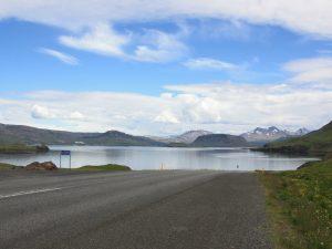 Fjordlandschaft in Westisland