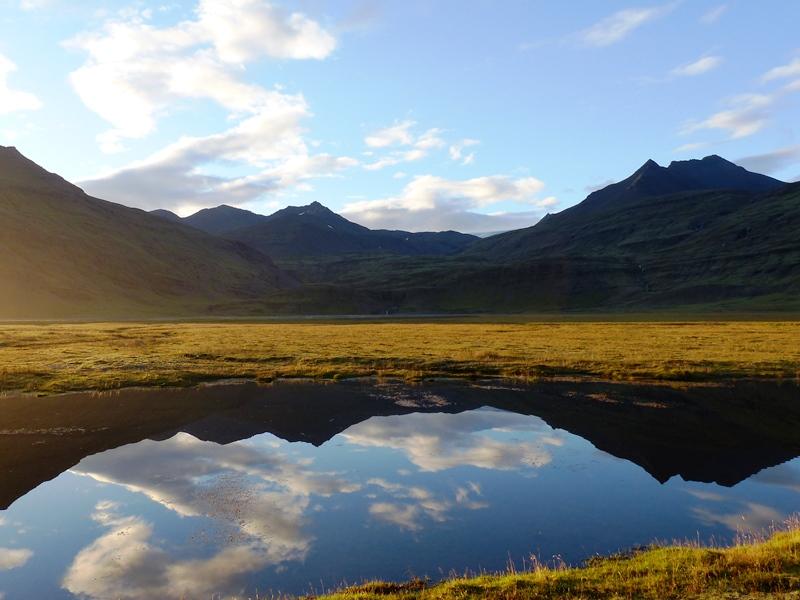 Fjordlandschaft der Ostfjorde