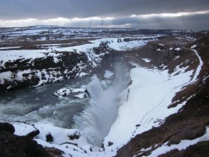 Gullfoss Wasserfall am Golden Circle