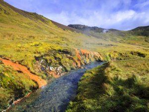 Retreat Urlaub mit Wanderung im Gebiet Hengill