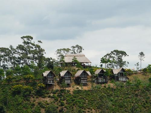 Besondere Unterkunft in den Bergen Sri Lankas