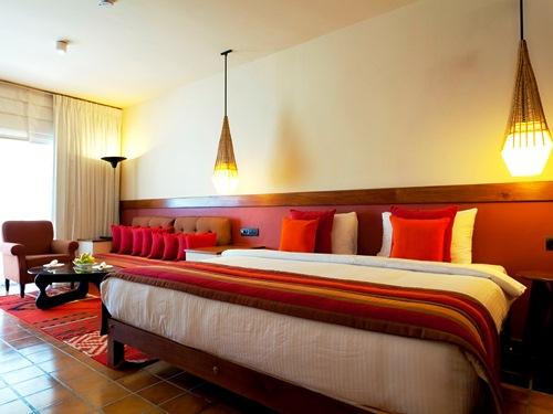 Großzügige Zimmer etwas außerhalb von Kandy