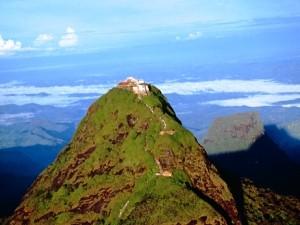 Der Gipfel des Adam's Peak