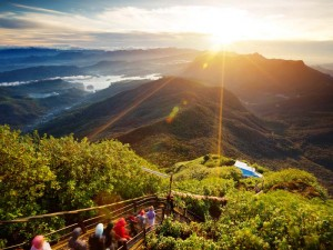 Sonnenaufgang am Adam's Peak