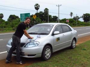 In Sri Lanka reisen Sie mit einem privatem Fahrer
