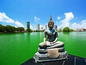 Die Skyline von Colombo