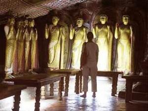 Heilige Buddha Statuen