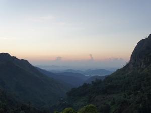 Die Panoramalandschaft in Ella