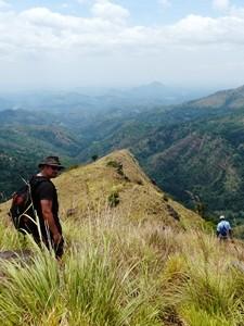 Wanderung zum Little Adam's Peak