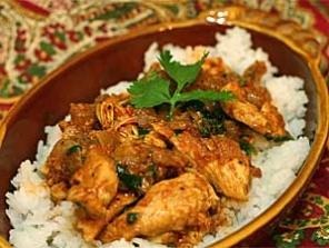 Einheimisches Curry