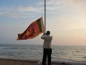 Die Küste Sri Lankas