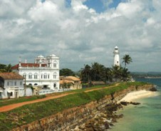 Kolonialroute nach Colombo