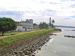 Rundreise Sri Lanka: Koloniales Galle