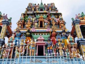Ein hinduistischer Tempel im Norden Sri Lankas