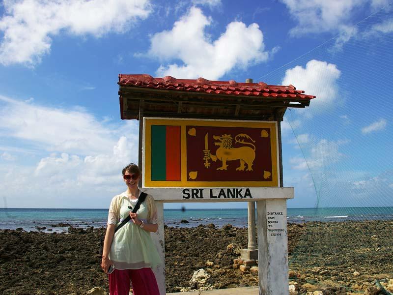 3 Wochen Sri Lanka: Die Flagge Sri Lankas