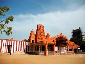 Der hinduistische Tempel Nallur-Kandaswamy