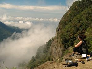 Rundreise Sri Lanka: Ausblick im Horton Plains