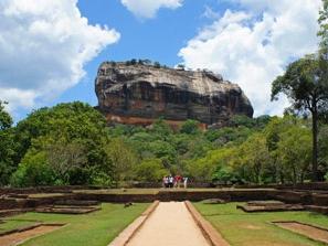 Der Sigiriya-Felsen
