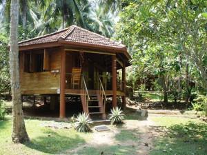 Holzcabana im Grünen von Tangalle