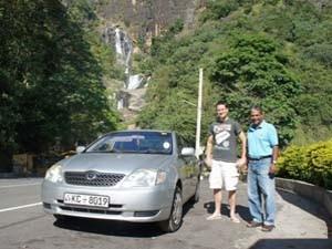 Mit dem Auto durch Sri Lanka