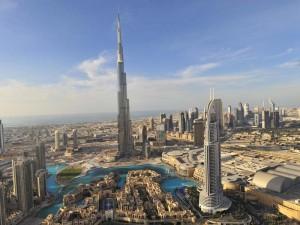Burj Khalifa und Downtoen Dubai