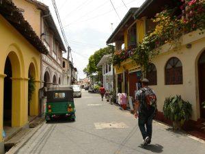Unterwegs in den Straßen von Colombo