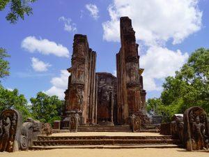 Tempelruinen in Polonnaruwa