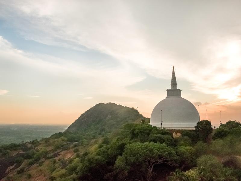Stupa in Mihintale bei Anuradhapura