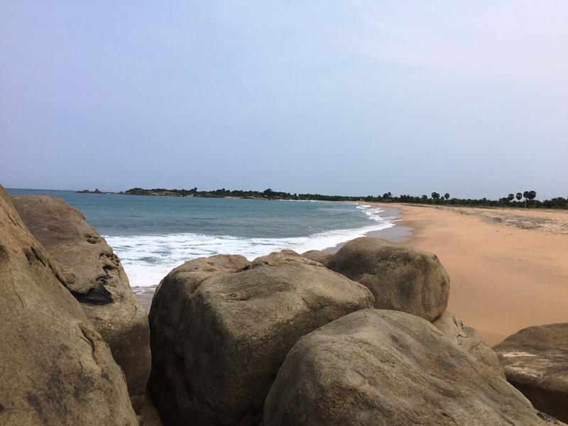 Der Strand von Arugam Bay