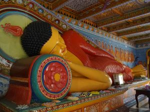 Der Buddhismus ist eine weit verbreitete Religion in Sri Lanka
