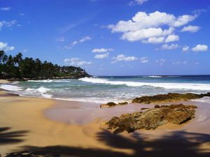 Ein Weitläufiger Strand an der Südküste