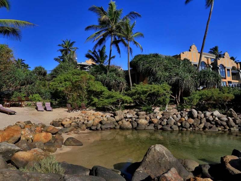 Strand zum Entspannen in Unawatuna