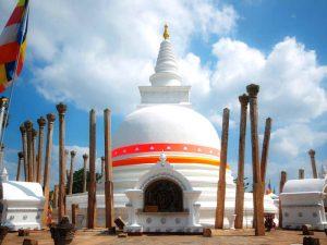 Tempel in Anuradhapura