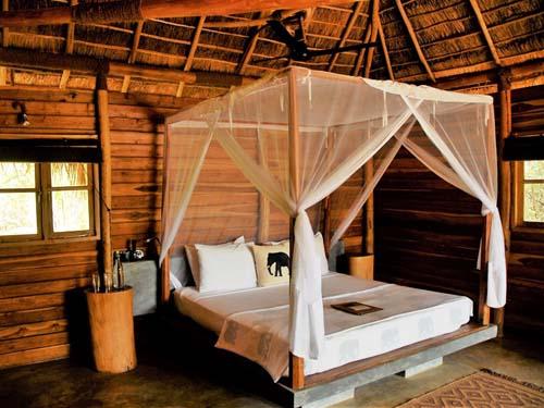 Ein Zimmer im Gal Oya Nationalpark