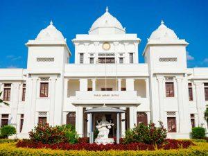 Die Bibliothek in Jaffna von außen