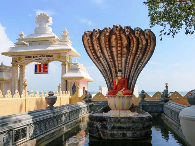 Buddhistischer Tempel auf Nainativu