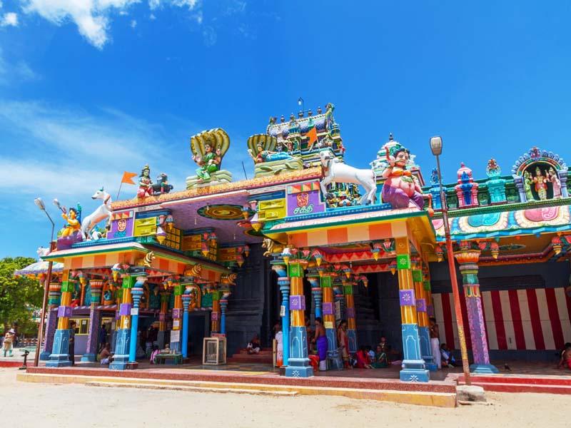 Hinduistischer Tempel auf Nainativu