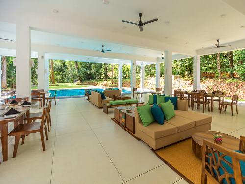 Das Restaurant Ihrer Komfort-Unterkunft in Kitulgala