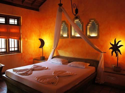 Hotelzimmer in Negombo auf Sri Lanka