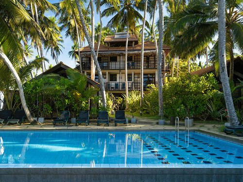 Hotel mit Pool in Tangalle